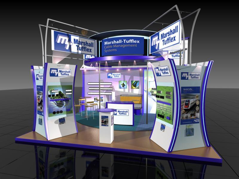 Exhibition Stand Builders Leeds : Index black design